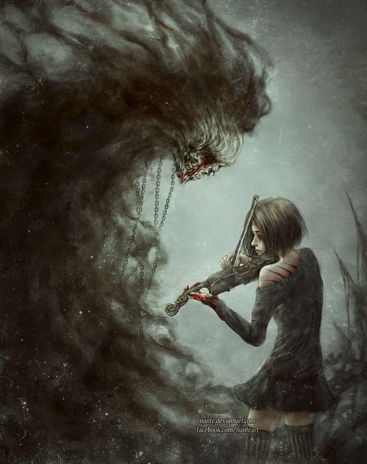 z0mbi3-s0krat3s:  Don't Fear the reaper by –>    NanFe