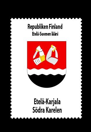 Republiken Finland • Etelä-Suomen lääni (Södra Finlands län) • Etelä-Karjala - Södra Karelen