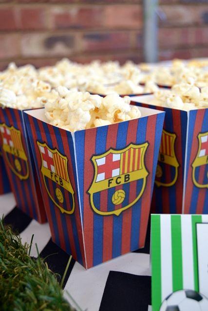 Barcelona Football Club Popcorn Boxes