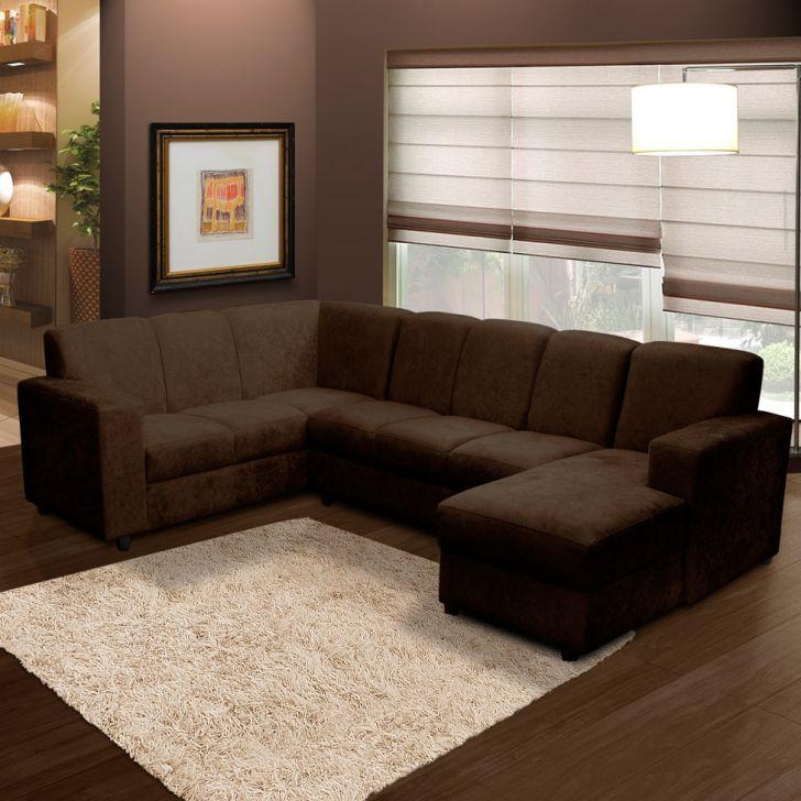 25 melhores ideias de sala com sofa marrom no pinterest for Sala de estar marron