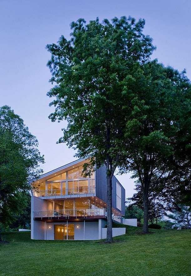 Частный дом от архитектора Robert M. Gurney (23)