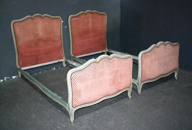 Twin Headboards For Sale Twin Beds Sale Pair Of French Xv Painted