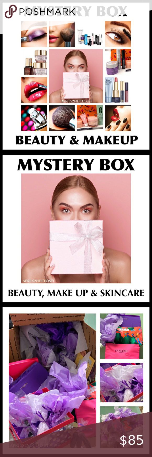 MYSTERY BOX LUXE MAKEUP BEAUTY AND SKINCARE A3C in 2020