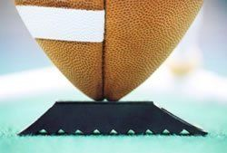 """Pro-Style 1 1-inch Football Field Goal Extra Point Kicking Tee Block for High School College Pro Place Kicker Players by Horsepower-House. Save 7 Off!. $12.95. 1"""" 1-inch Football Field Goal Extra Point Block Tee. Used by many Top High School College Pro Kicker Players. See photos for examples of use.  Used by professional and college place kickers."""