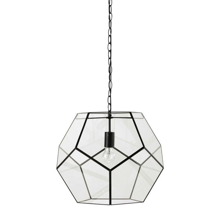 ASTRO metal pendant lamp in black D ...