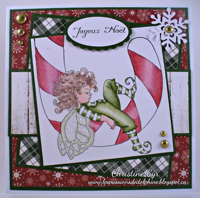 whimsy stamps christmas card