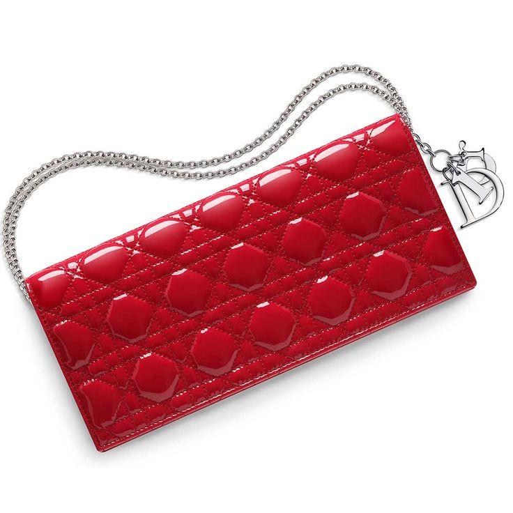 Dior - Dior Evening Pouch Çanta Parlak Siyah - Altın - 4 #Dior #Dior-DiorEveningPouch #Çanta