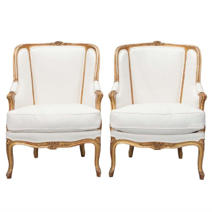View This Item And Discover Similar Bergere Chairs For Sale At   Circa  Napoleon III Arm Chairs Have Carved And Gilded Frames With Decorative  Floral Carvings ...