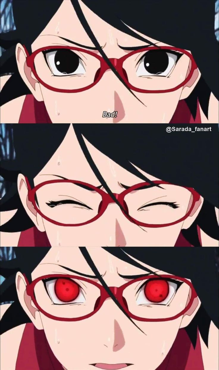 Sarada finally awakens her Sharingan out of excitement of seeing her Dad, Sasuke Uchiha ❤️❤️❤️ #Boruto #Episode20 #Gaiden #NexrGeneration