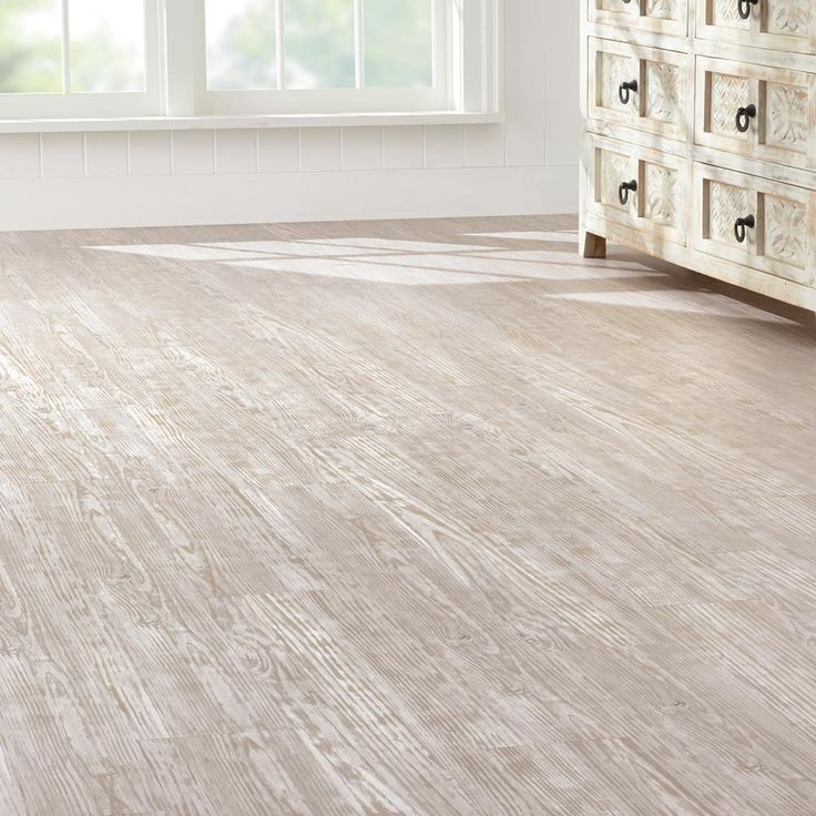 Home Decorators Collection Whitewashed Oak 7.5 In. X 47.6