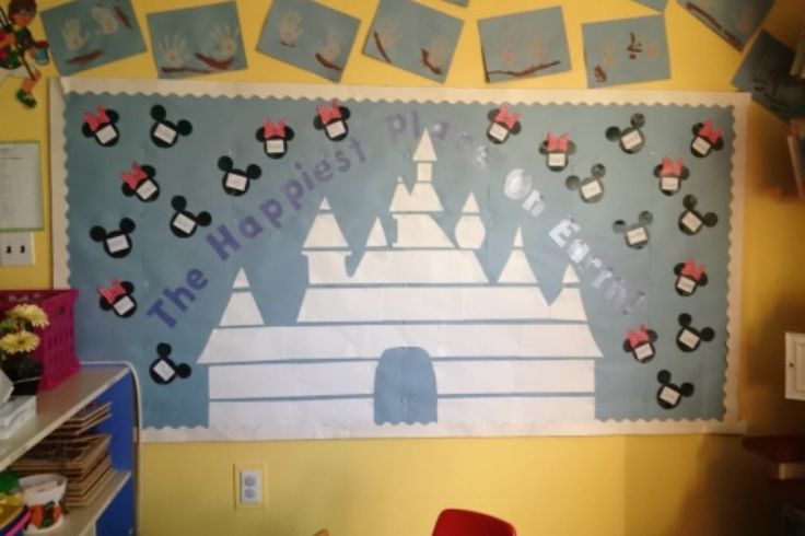 Disney bulletin board