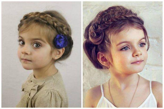 Çocuk Saç Modelleri Düğün İçin Harika Öneriler