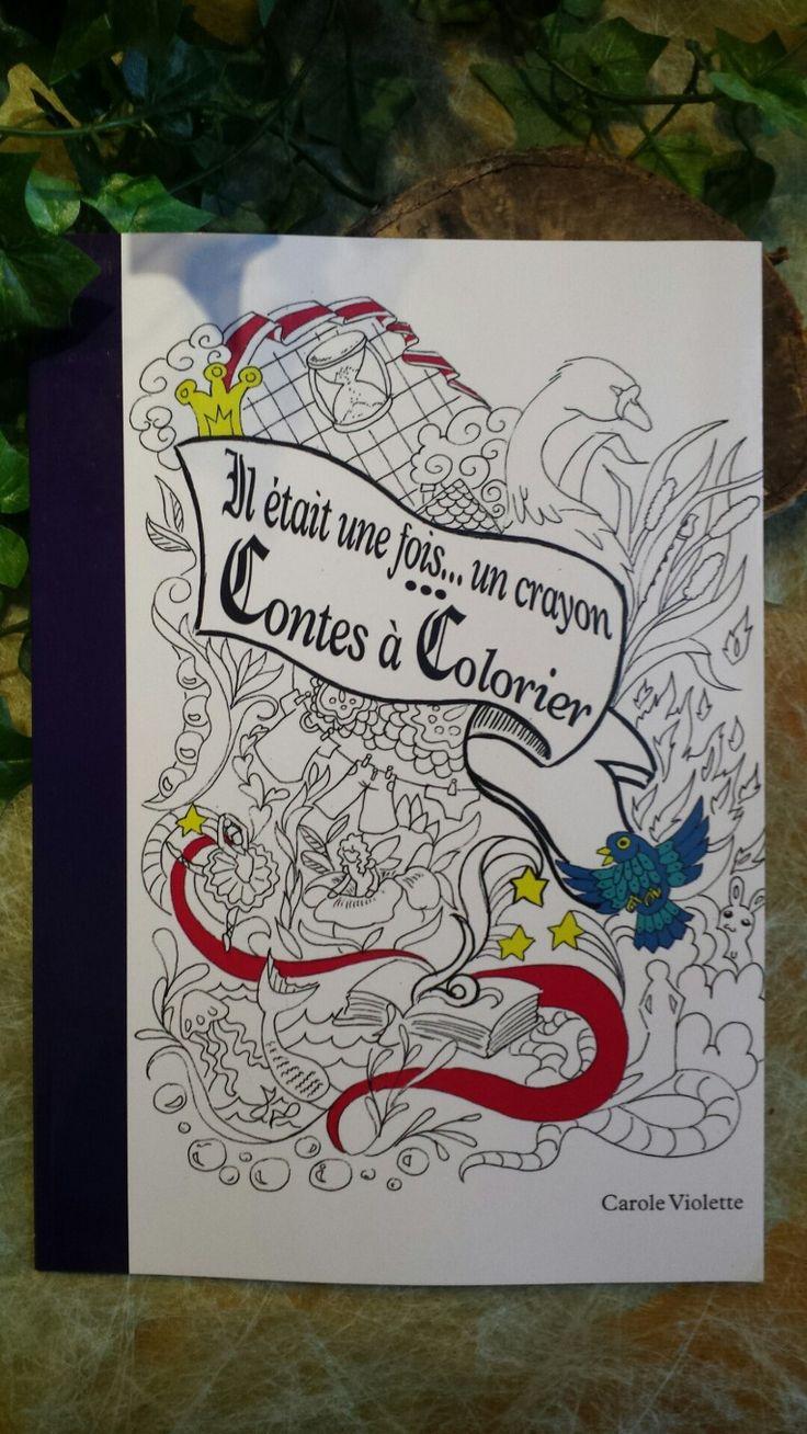 """Livre de coloriage """"contes de fées  colorier"""""""