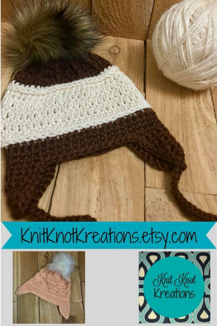 1a56cf35b6158 Crochet Earflap Hat