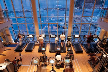 I am definitely going to this treadmill someday.  Hotel Hermitage.