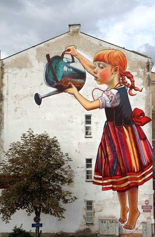 street art in Poland