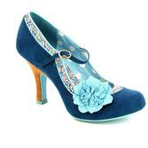 These floral blue high heeled shoes from Ruby Shoo are now available online. Perfect party shoes. Buy now from www.beggshoes.com #rubyshoos #partyshoes