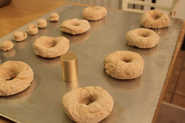 DIY bagels and holes