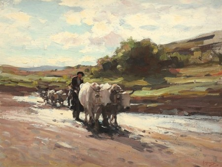 Nicolae Grigorescu - glorious Romanian painter. Glorious because he had awesome skills.
