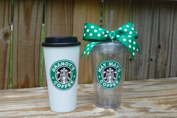 starbucks personalized tumbler template - personalized starbucks tumbler available in 16 oz and