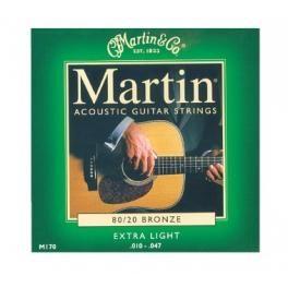 CUERDAS GUITARRA ACÚSTICA. MARTIN 170. Juego completo, Extra Ligero #Ofertas #Descuentos #Sales #Discounts