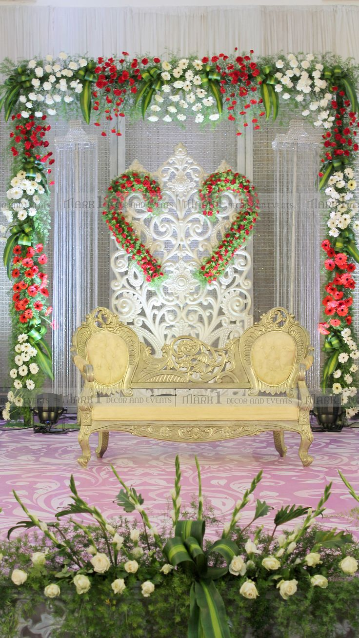 https://flic.kr/p/JThY7R | Mark1 Decors - Wedding Stage Decorators In South India, Wedding Cards,Catering,Candid…