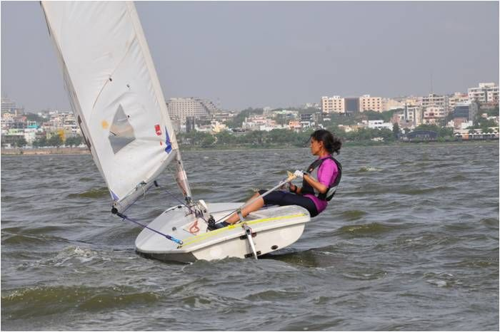 Hyderabad Sailing Week organised at Hussain Sagar lake from 28thJun to 08thJul 2017. Only Olympic class event conducted for past 32 http://yrs.pic.twitter.com/8EpGCpZVMU #IndianArmy #Army