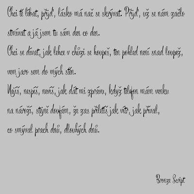 Můj papírový relax: Font, který čeština nezaskočí (18)
