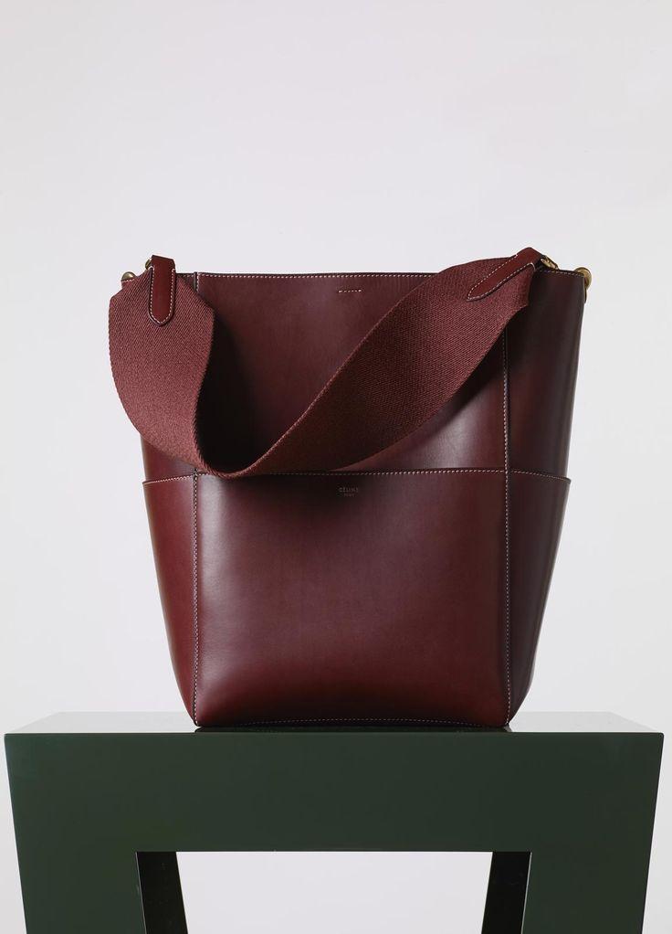 Sangle Seau Bag   Fall / Winter Collection 2015   CÉLINE