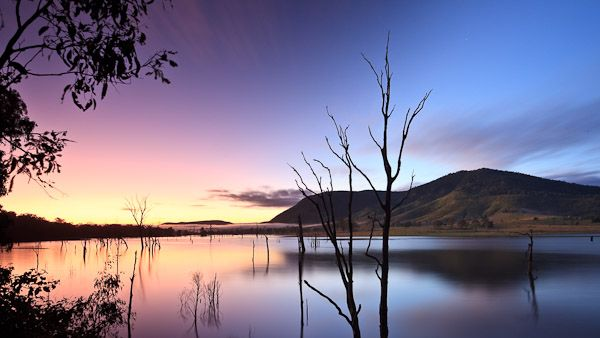 Dawn at Somerset Dam, Brisbane, Qld