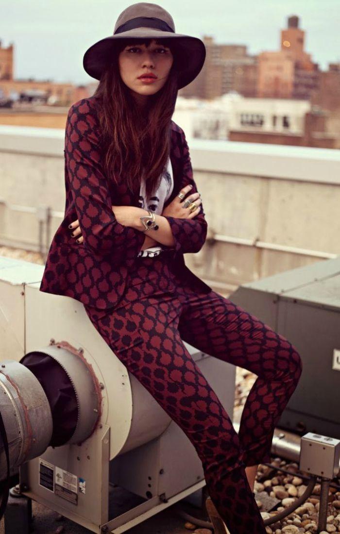 inspiration: matchy addict | Lady Addict en stylelovely.com