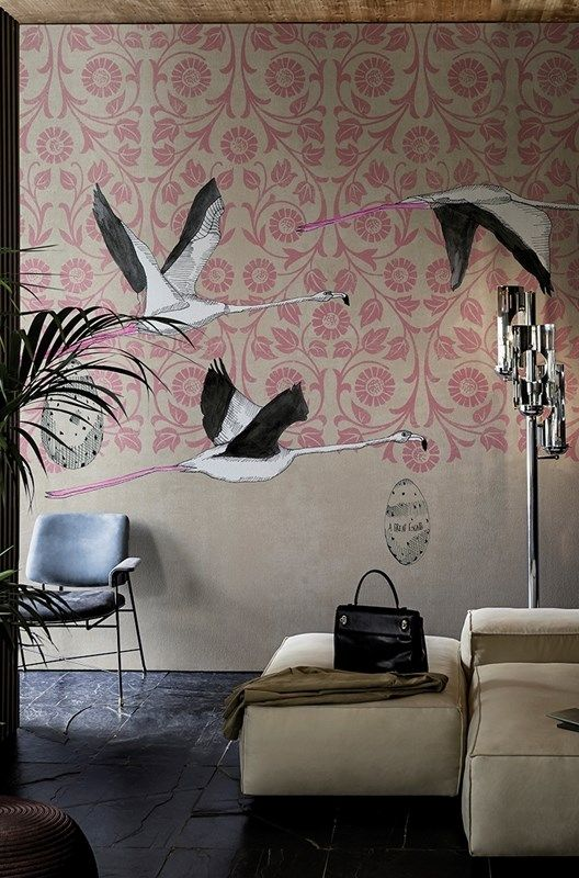 Collezione 2016 carte da parati Wall&Decò, soggetto Great escape - www.designlover.it