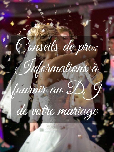 conseil mariage
