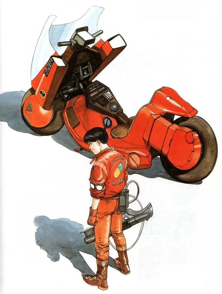 """""""Kaneda Shotaro"""" by 大友 克洋 Katsuhiro Ōtomo*  Blog/Website 