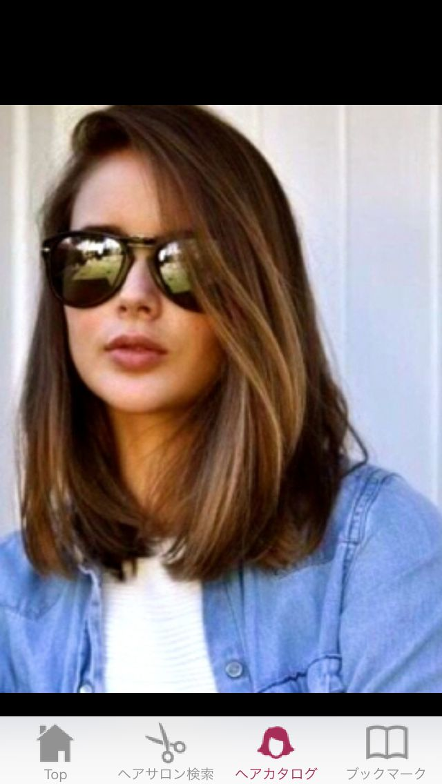 59 best looks hair cuts colors images on pinterest hair medium one length bob hairstyle winobraniefo Image collections