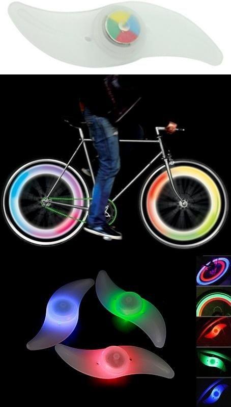 LED-es küllő lámpa. Dekoratív, különleges fényjátéka menet közben nagyon látványos, tiszta élvezet. A mellett persze biztonsági szempontból fontos is, hiszen este már jó messziről feltűnik a kerékpár, így akár életet is menthet. Egy színű és színváltós, RGB LED-es változata is elérhető.