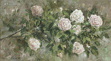 Witte rozen By Marius van Dokkum