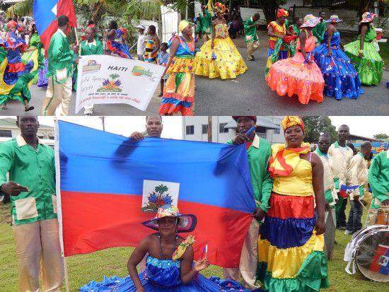 Haiti - Culture : Celebration with the Haitian Diaspora in Suriname - HaitiLibre.com : Haiti news 7/7