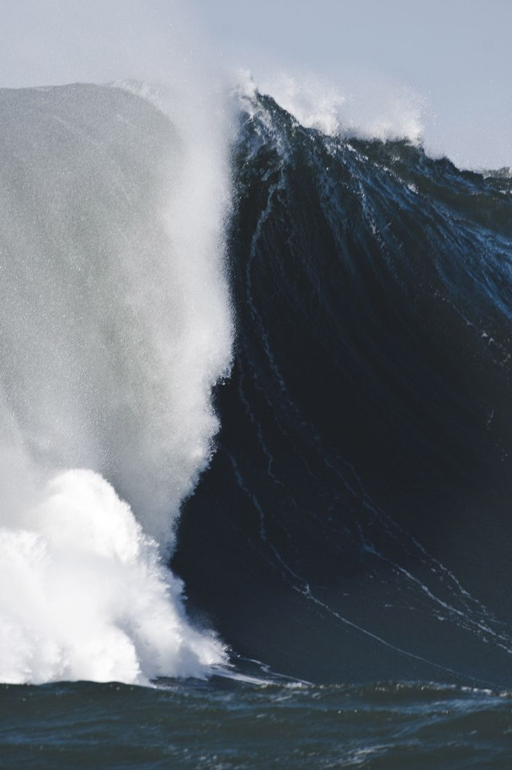 Waves impress me so much, like how can water have some much intensity and force…