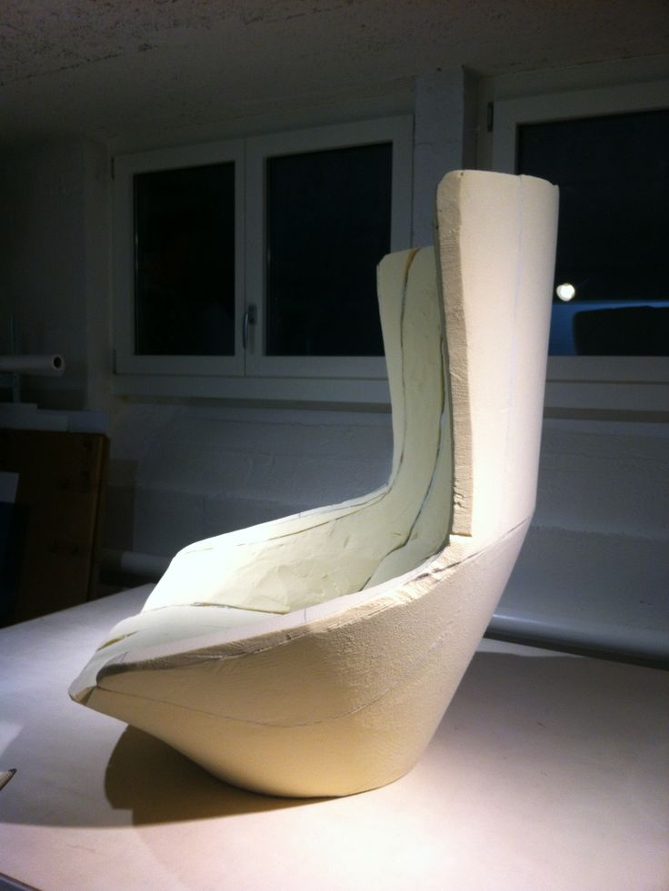 First foam model in scale 1 to 1