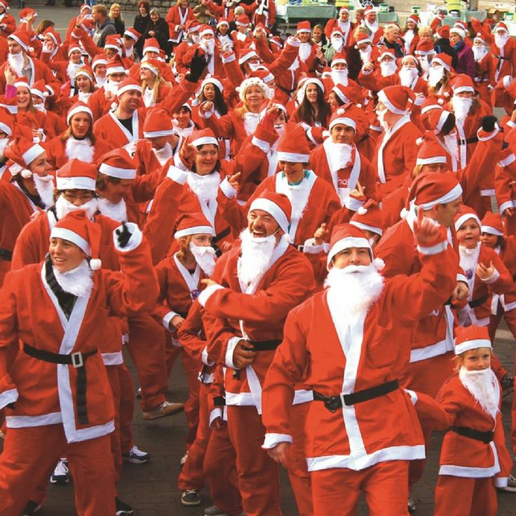 Santas on the Run for Children's Hospice South West