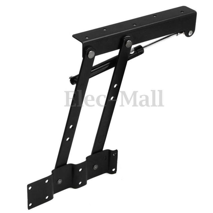 1 Par levante a parte superior Mesa de Café mecanismo de elevação Frame Hardware Dobradiça Mola faça você mesmo