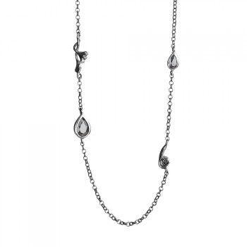 Rabinovich, Spring Drops Halskæde, Sølv, 90/100 cm