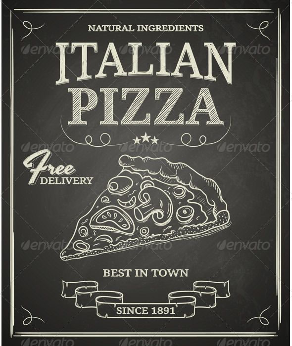 GraphicRiver Italian Pizza Poster 5735450