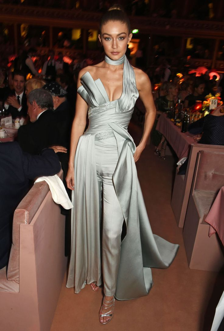 Gigi Hadid Wore The Jumpsuit Version Of Cinderella 39 S Gown