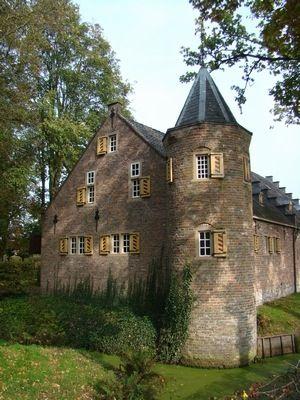 Poortgebouw Kasteel Sypesteyn, Nieuw-Loosdrecht, Noord-Holland.