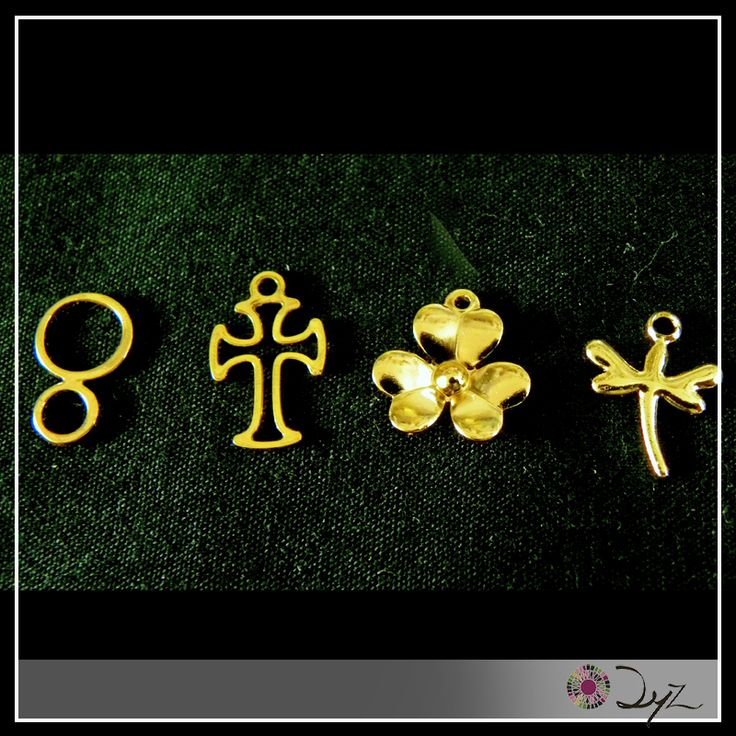 """Estos son nuestros separadores """"Eterno dorado"""". Crea tus pulseras y confecciones con ellos."""