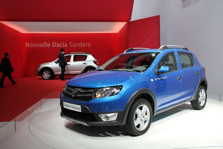 Coup de jeune pour la nouvelle Dacia Sandero Stepway 2012