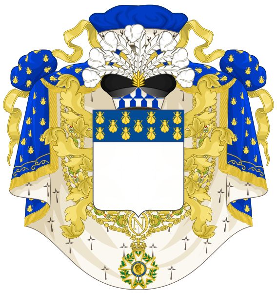 File:Coat of Arms of a Prince Grand Dignitaire (First French Empire).svg