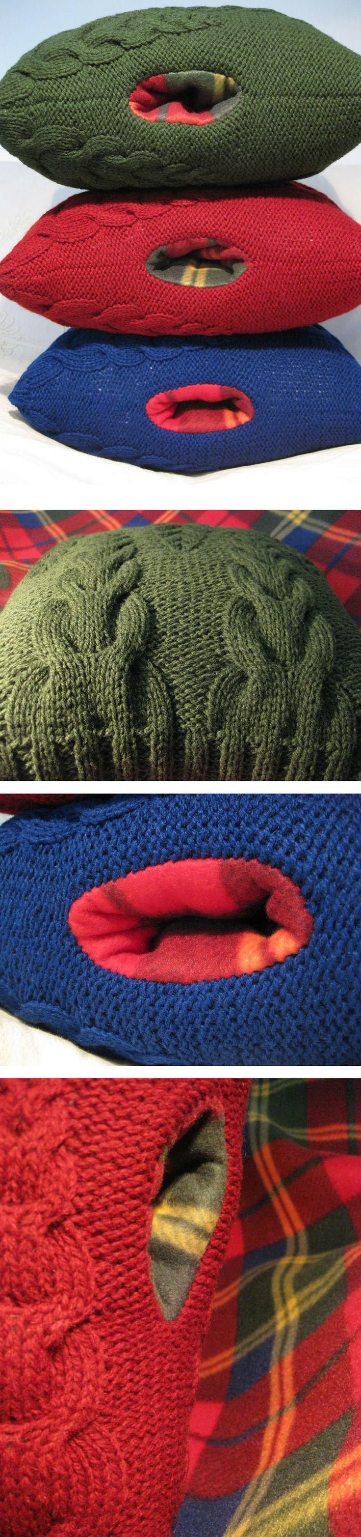 #Scaldamani. #tartan collection. 100% lana shetland, imbottitura in poliammide, interno in pile. #Handwarmer pillow. 100% shetland wool, polyammide filling, polar fleece lining. Da/from €45. #handmade #knit #interiordesign #homedecor